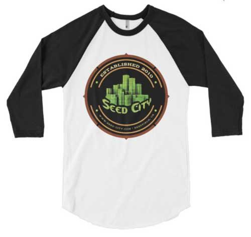 种子城长袖衬衫 - 种子银行服装