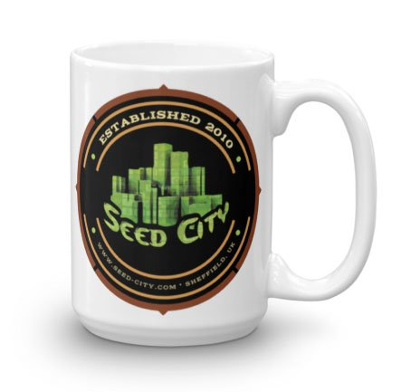 Seed City Mug by Cali Connection Seeds from Seed City