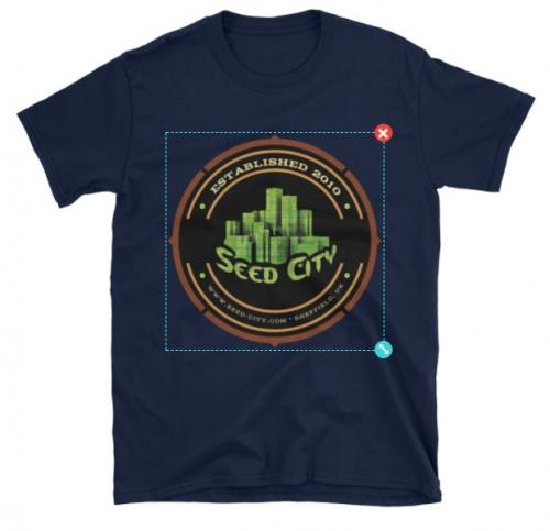 种子城市中性T恤 - 种子银行服装