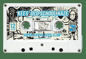 Kees 'Old School Haze - Super Sativa Seed Club