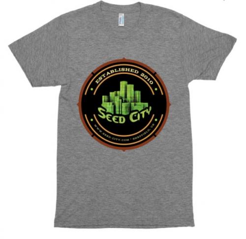 种子市短袖田径衬衫 - 种子银行服装