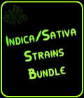 Indica - Sativa Strains Bundle