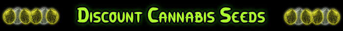 Rabatt Cannabis Frön Banner