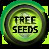 Volné konopných semínek