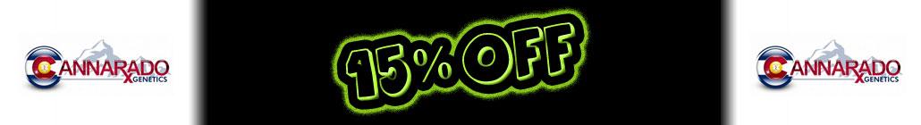 15% отстъпка от Cannarado Genetics