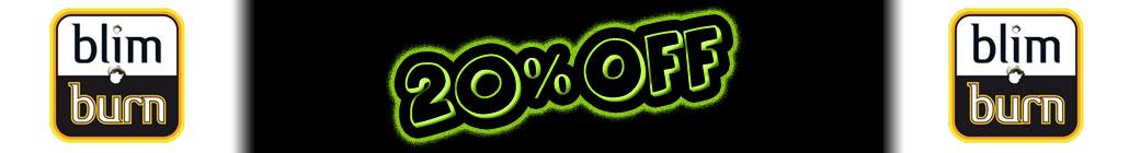 20% de descuento en semillas de Blimburn!