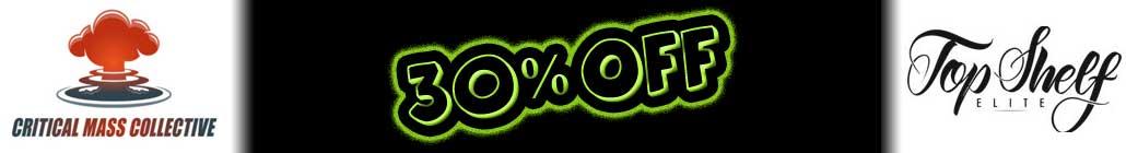 3% הנחה Critical Mass Collective והמדף העליון Elite Seeds!