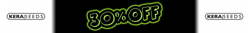 30% ปิด Kera Seeds!