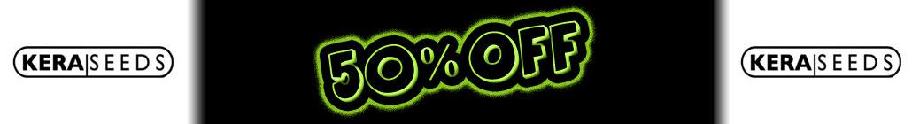 50% de réduction Kera Seeds!