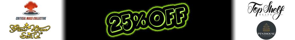 25%オフ Critical Mass Collective、グリーンハウス、ペントハウス&トップシェルフ!