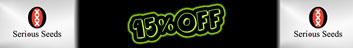 15% Off Serious Seeds