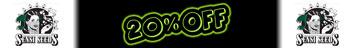 20% Off Sensi Frø!